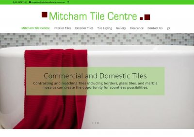 Web Design Mitcham Tile Centre