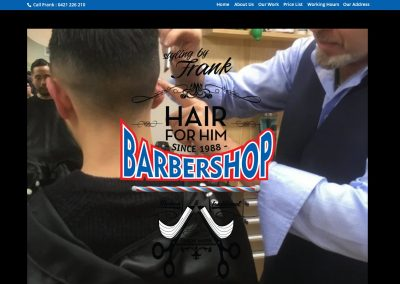 Web Design for Barber in Blackburn
